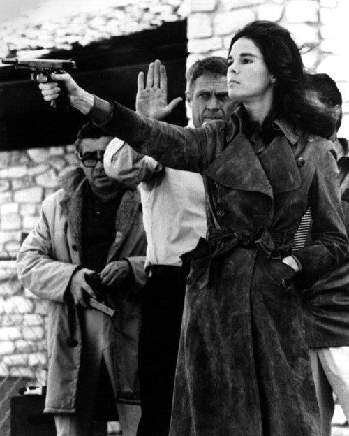 Ali MacGraw és Steve McQueen A szökés (1972)