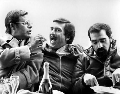 Jerry Lewis, Robert De Niro és Martin Scorsese A komédia királya (1983)