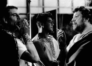 Laurence Olivier, Tony Curtis és Peter Ustinov Spartacus (1960)