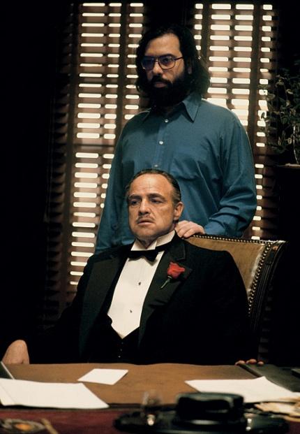 Marlon Brando és Francis Ford Coppola A keresztapa (1972)
