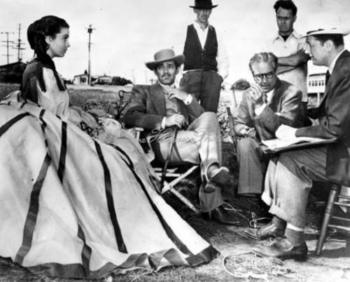 Victor Fleming, Vivien Leigh, Clark Gable és David O. Selznick Gone Elfújta a szél (1939)