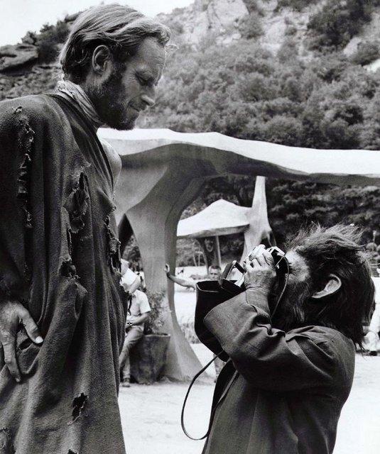 Charlton Heston A majmok bolygója (1968)
