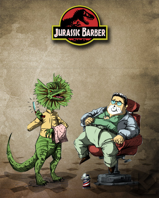 Jurassic Barber