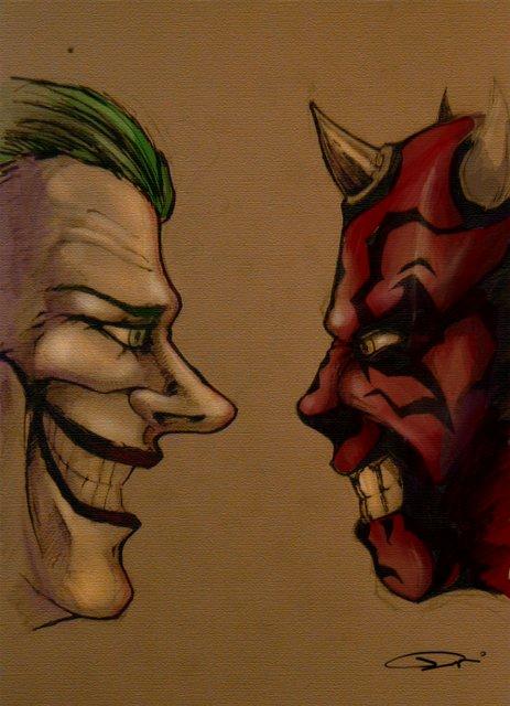 Joker vs. Darth Maul