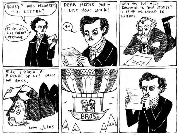 Edgar Allan Poe vs. Jules Verne