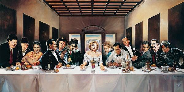 Last Supper by Renato Casaro