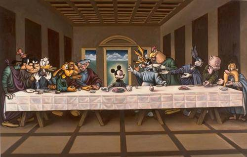Mickey Mouses last supper