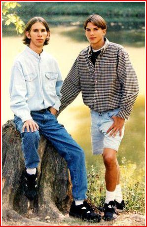 ashton kutchers twin brother michael kutcher