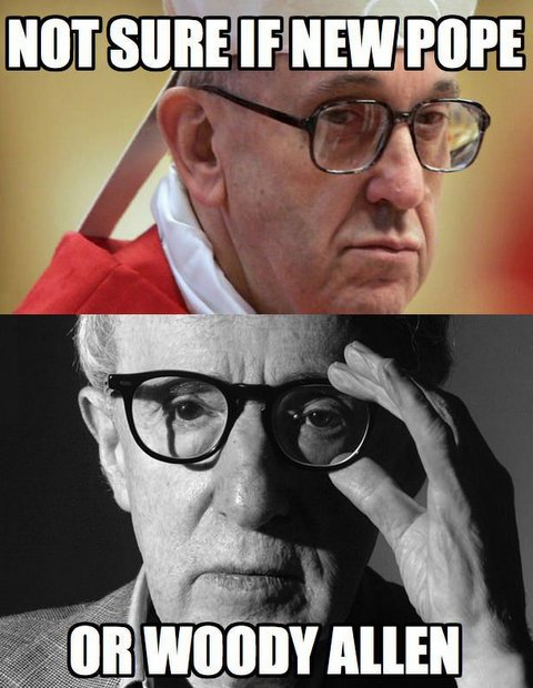 now sure if new pope or woody allen1