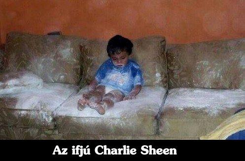 Az ifjú Charlie Sheen