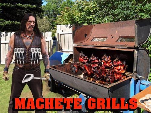 machete grills