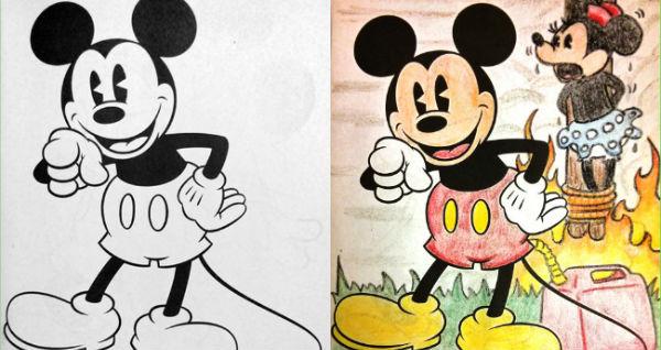 Mickey sötét oldala
