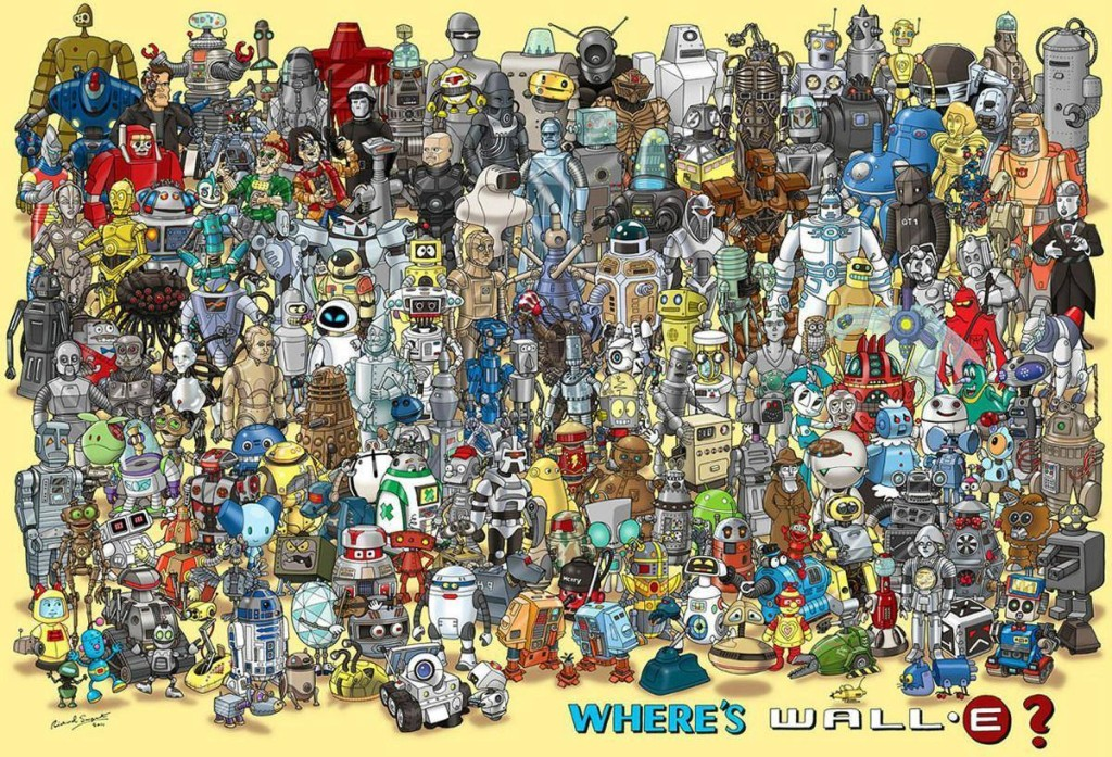 where is wall e