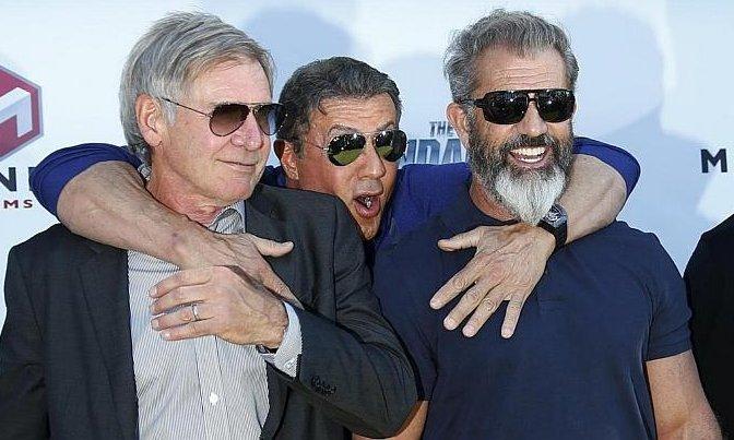 Harrison, Sylvester, Mel Cannes-ban