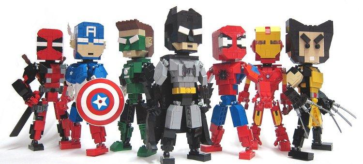 Lego hősök