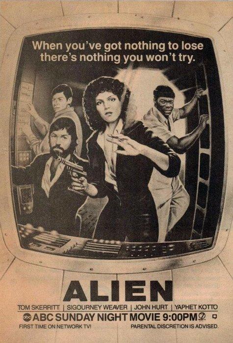 Alien a tévében