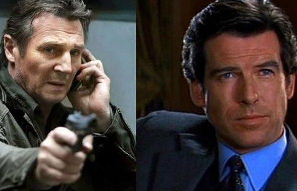 Liam Neeson-James Bond