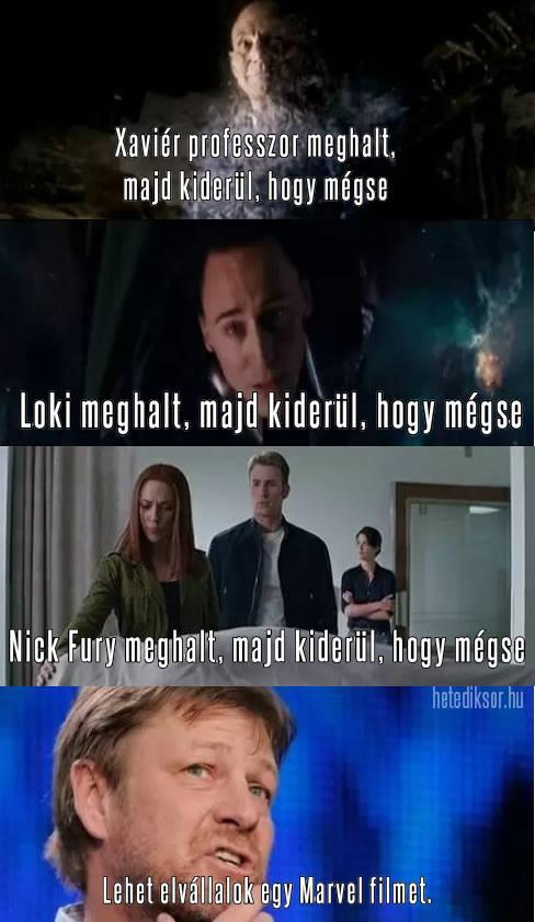 Sean és a Marvel