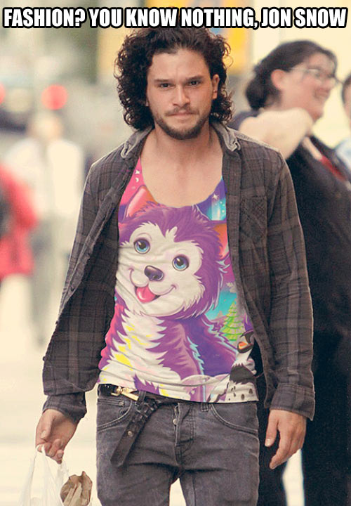 funny-jon-snow-fashion-tshirt-dog