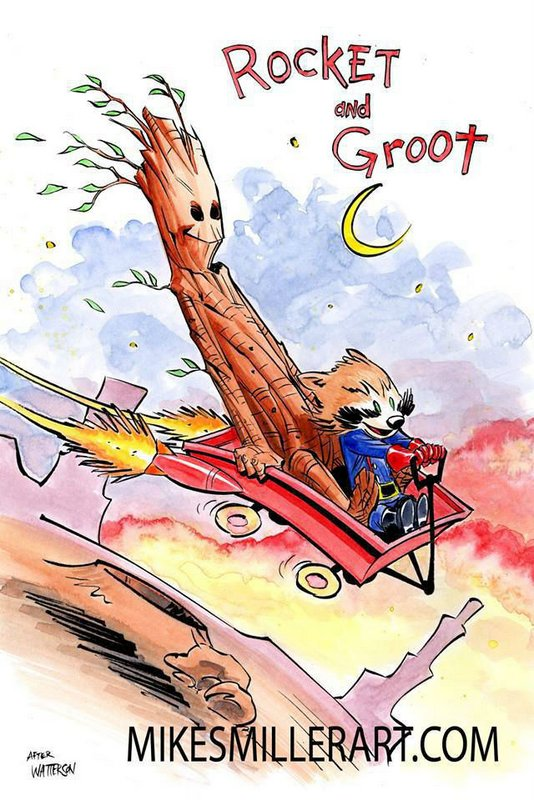 rocket-and-groot-as-calvin-and-hobbes