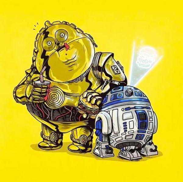 fat R2-D2
