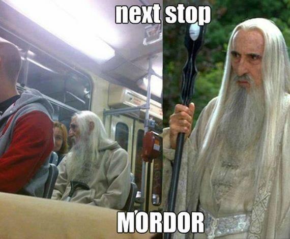 Next stop Mordor