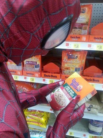 Pókember és a rizsa