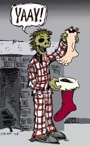 zombi karácsony