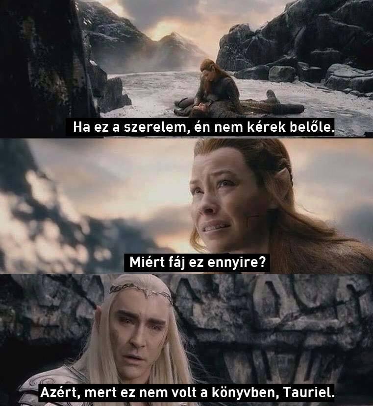 Hobbit szerelem