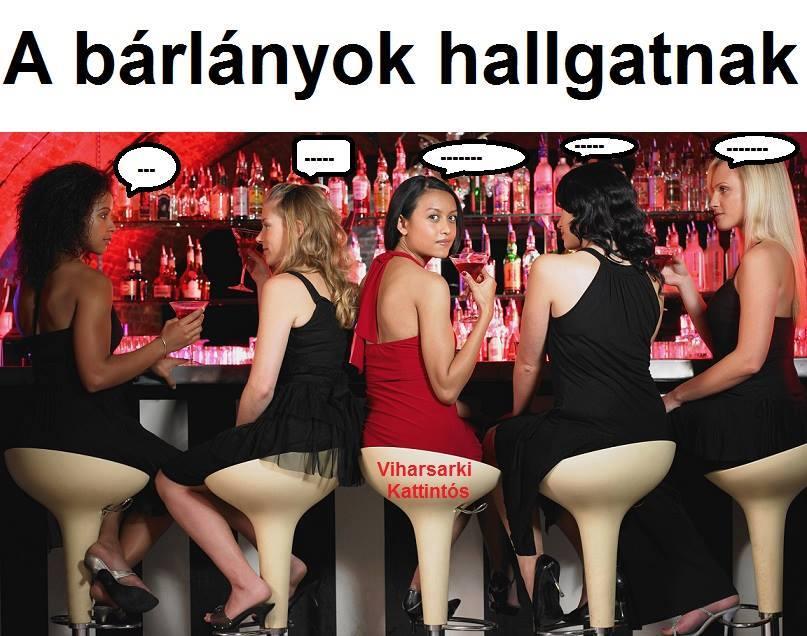 A bárlányok