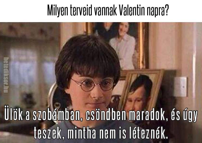 Harry Potter és a Valentin-nap