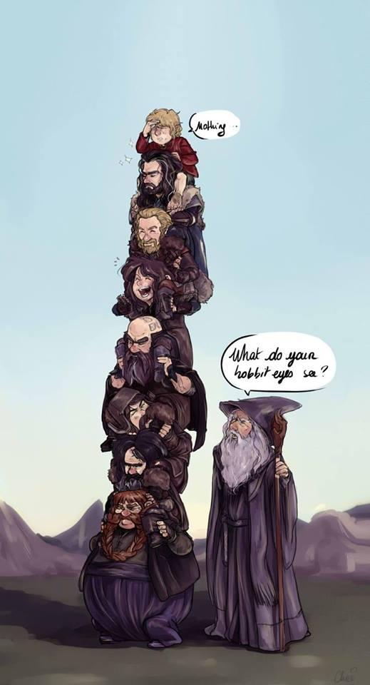 Hobbit szem