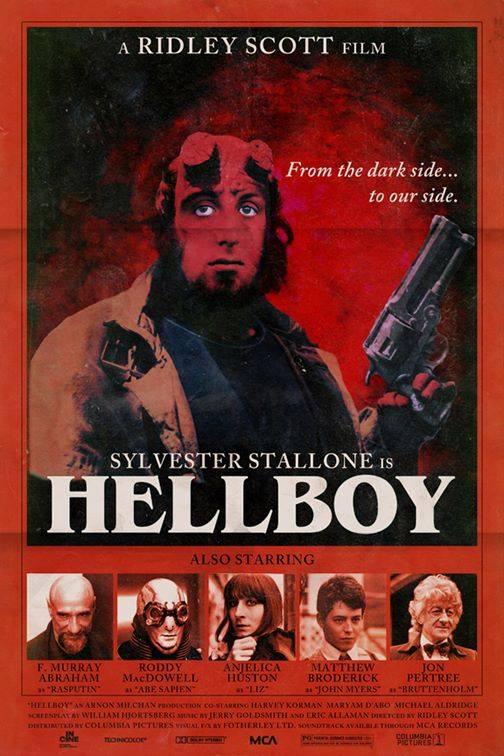 sylvester stallone hellboy