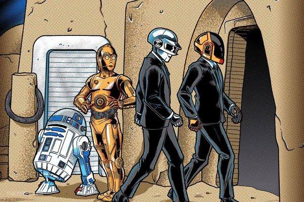 Cantina Band vs. Daft Punk