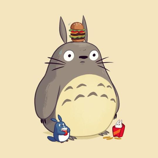 Miyazaki is rajzolta a lényeget, ha túl sokat esztek a mekiben.