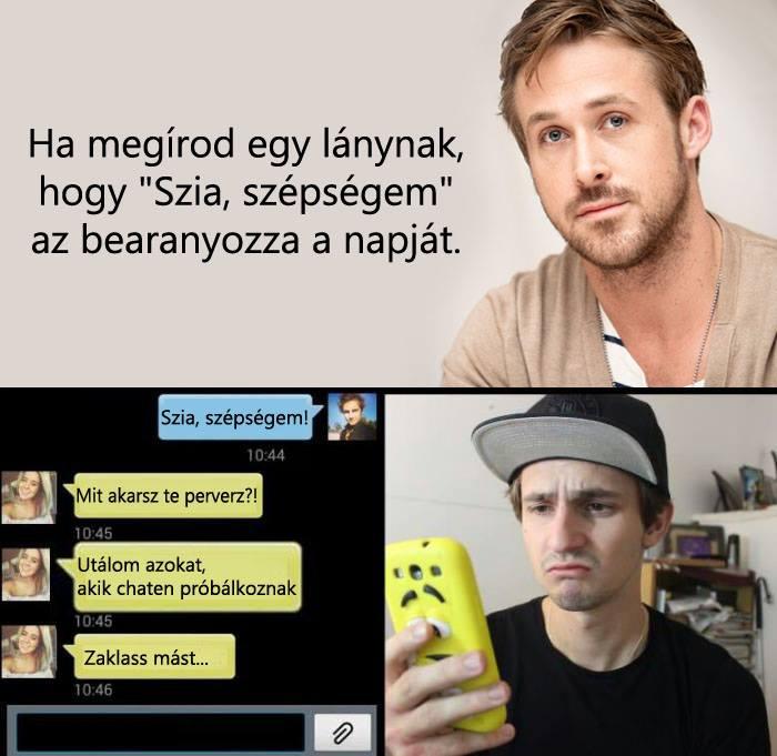Ryan Goslingnak könnyű