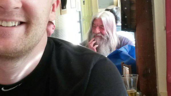 Gandalf a menzán