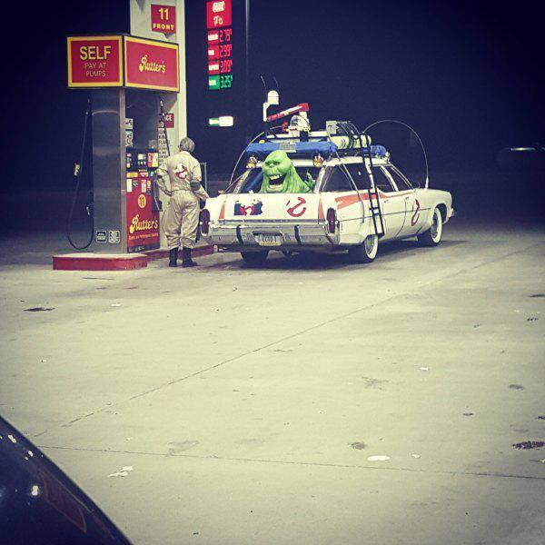 Ghostbusters tankolás