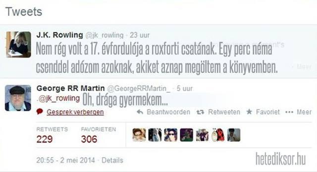 J.K.Rowling vs. Martin