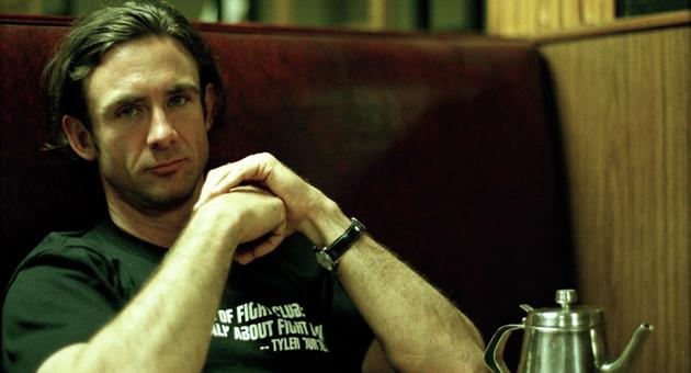 Chuck Palahniuk Tyler Durden idézetes pólóban