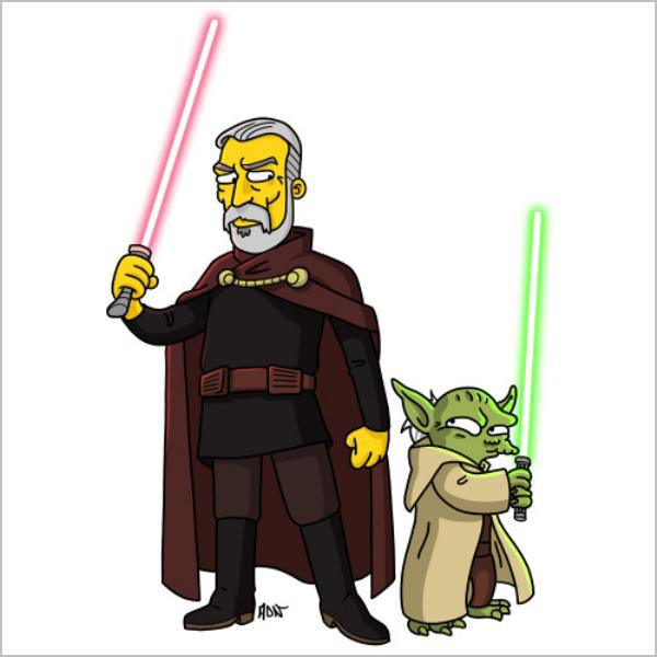 Dooku és Yoda