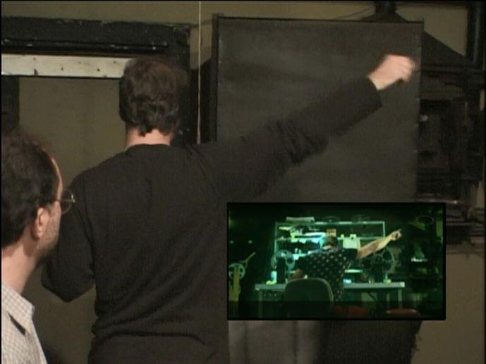David Fincher a mozivetítő jelenetet rendezi