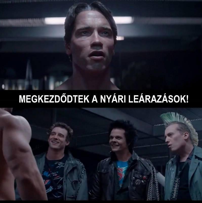Arnie és a leárazások