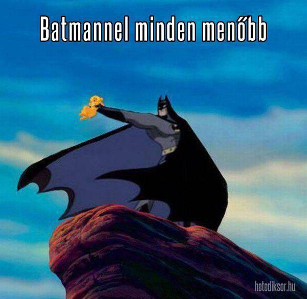 Batmannel minden menőbb