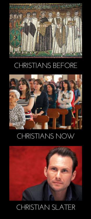 Christians Slater