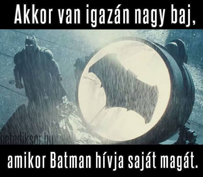 Batman hívja Batmant
