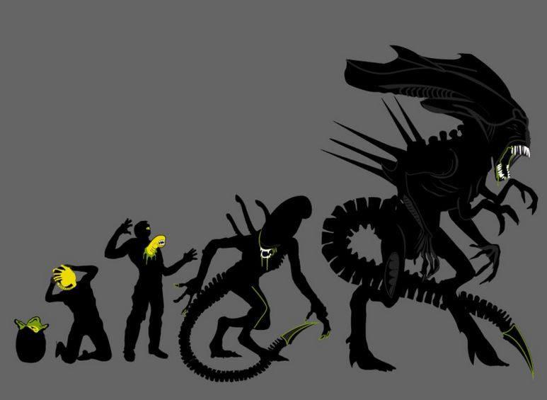 Alien evolució