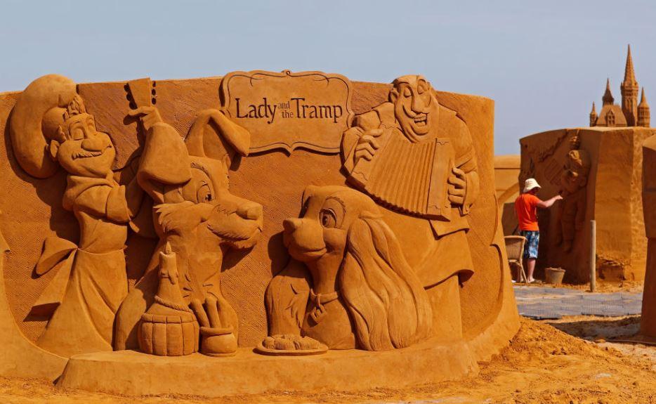 homok disney