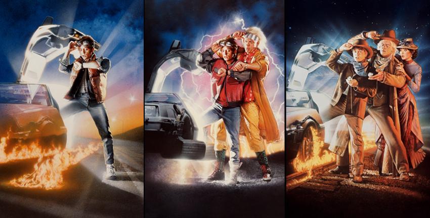 Back to the Future I, II & III
