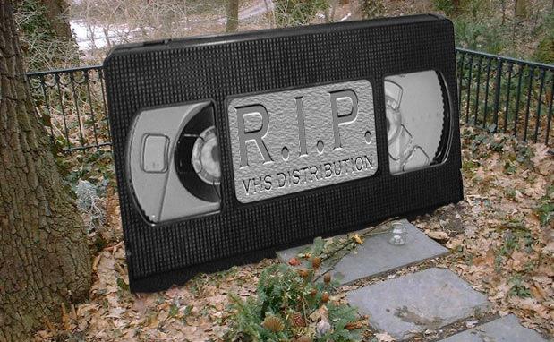RIP VHS 1976 2015
